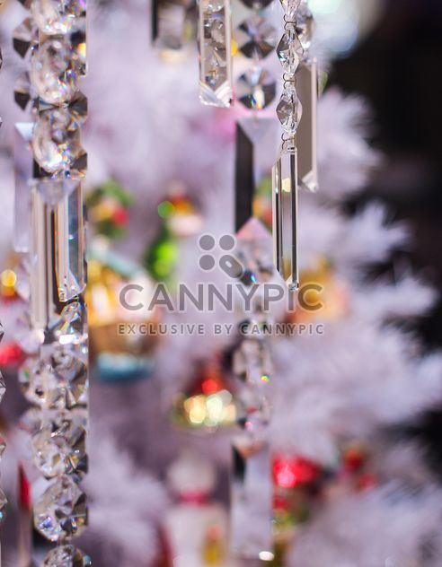 Close-up of Christmas tree with decorations - Free image #187333