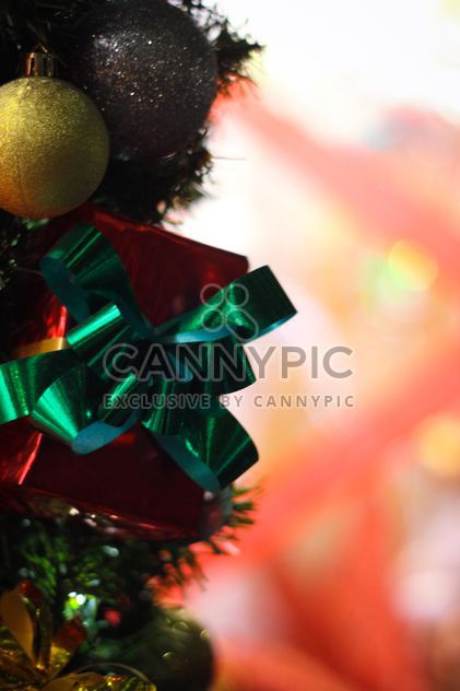 Christmas bokeh newyear decoration - Free image #187353