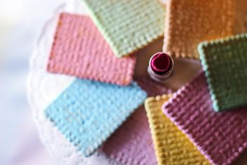 rainbow cookies - image gratuit #187413