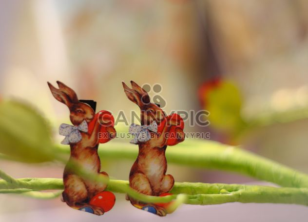 easter bunnies - Free image #187423