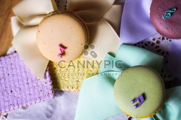 Bunte Makronen und cookies - Kostenloses image #187633