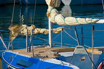 Close-up of yacht - image #187683 gratis