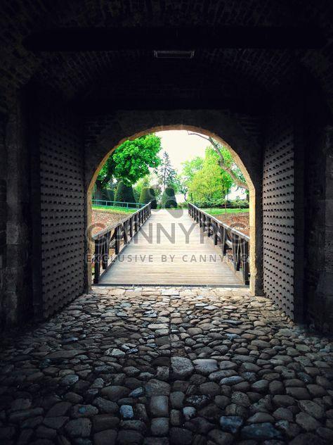 View through a gate at Kalemegdan - Free image #187913