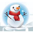 bonhomme de neige - icon gratuit(e) #188783