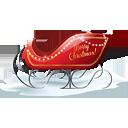 Santa Sleigh - Free icon #188793
