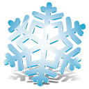 снежинка - бесплатный icon #188803