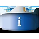 Bureau d'informations - icon gratuit(e) #188853