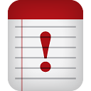 Notes Warning - icon gratuit #188973