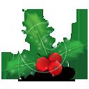 muérdago de Navidad - icon #189713 gratis
