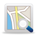 Search Map - icon gratuit #189773