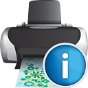 Printer Info - icon gratuit #190353
