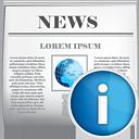 Noticias info - icon #190403 gratis