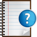 Notes Help - icon gratuit #190523