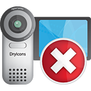 Video Camera Delete - icon gratuit #190533