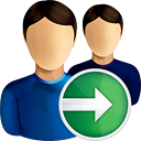 Users Next - icon gratuit(e) #190573