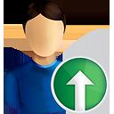 utilisateur vers le haut - icon gratuit #190593