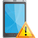 Smart Phone Warning - Kostenloses icon #190773