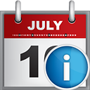 Calendar Info - icon gratuit(e) #190813