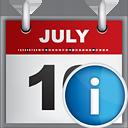 informação do calendário - Free icon #190813