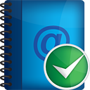 Address Book Accept - Free icon #190973