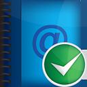 Aceptar la libreta de direcciones - icon #190973 gratis