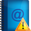 Address Book Warning - Kostenloses icon #190993