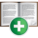 Book Add - icon gratuit #191043