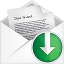 Mail Open Down - icon gratuit(e) #191093