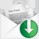 Nach unten offene Mail - Free icon #191093