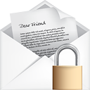 Mail Open Lock - icon gratuit #191133