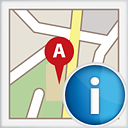 Map Info - icon gratuit #191143