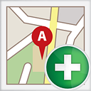 Map Add - icon gratuit #191163
