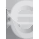 Euro Silber - Kostenloses icon #191213