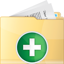 Folder Add - icon #191223 gratis
