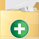 Folder Add - Free icon #191223