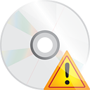 Disc Warning - icon gratuit #191233