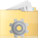 Folder Process - icon gratuit #191313