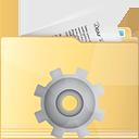 процесс папки - бесплатный icon #191313