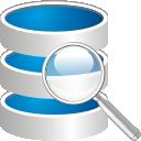 Suche in der Datenbank - Free icon #192263