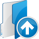 Folder Up - icon #192293 gratis