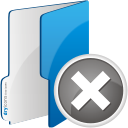 Folder Remove - icon gratuit(e) #192343