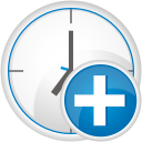 Clock Add - icon gratuit #192373