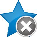 Favoriten entfernen - Kostenloses icon #192383