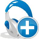Adicionar o fone de ouvido sem fio - Free icon #192443