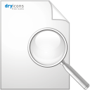 Seite Suche - Kostenloses icon #192513