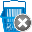 Shopping Cart Remove - Kostenloses icon #192543
