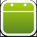 calendrier vide - icon gratuit(e) #192823