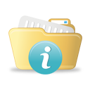 Open Folder Info - icon gratuit #193013