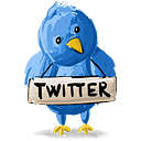 Twitter Sign - icon #193113 gratis