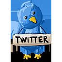 signe de Twitter - icon gratuit #193113